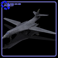 B-1B Bomber (for Poser) Themed Transportation VanishingPoint