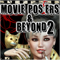 Movie Posters and Beyond 2 Poses/Expressions pixeluna