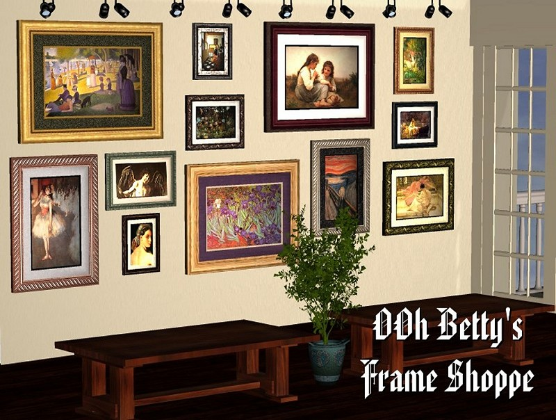OOh Betty's Frame Shoppe�