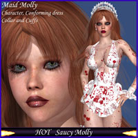 HOT Saucy Molly 3D Figure Essentials 3D Models lululee