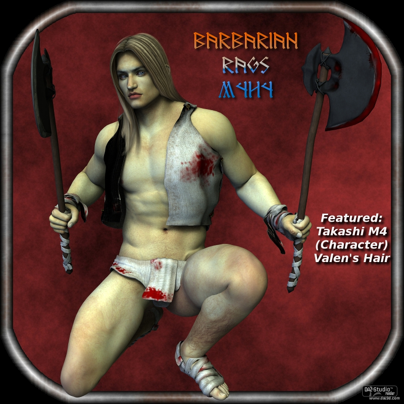 Sickle Barbarian Rags M4H4