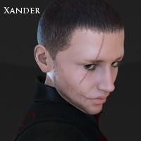 Xander 3D Figure Essentials 3D Models Imaginary_House