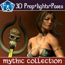 Mythic Collection: Poses and Backdrops 2D Graphics 3D Figure Assets ironman13