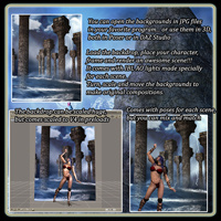 Mythic Collection: Poses and Backdrops image 1