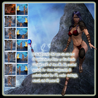 Mythic Collection: Poses and Backdrops image 5