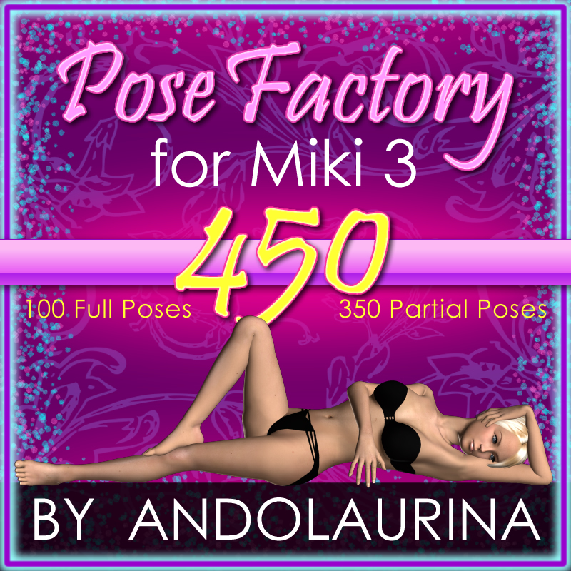 AA Miki 3 Pose Factory