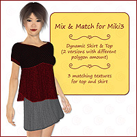 Miki 3 - Mix and Match  karanta