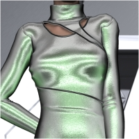 Cyberia Dress for V4-S4-Elite-A4-G4-Alice 3D Figure Essentials 3D Models chasmata