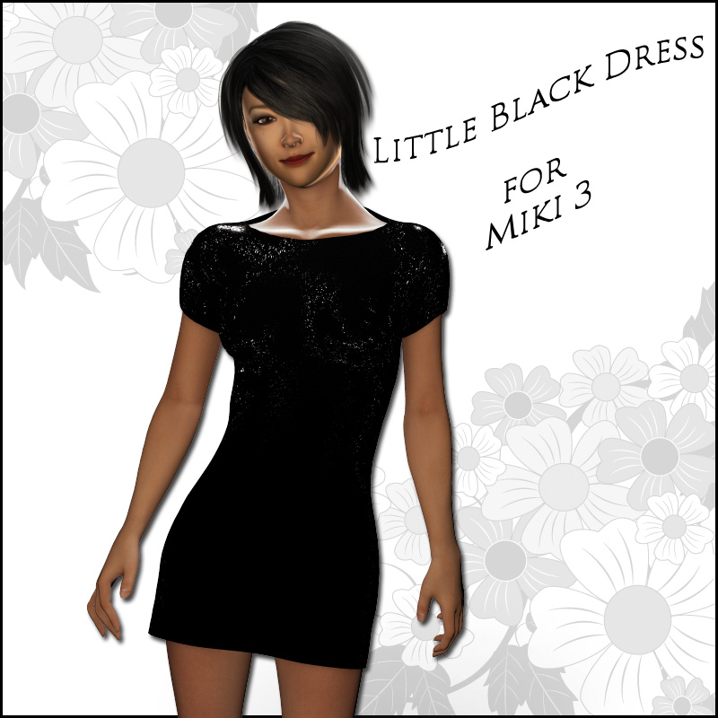 Miki 3 - Little Black Dress