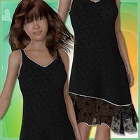 Miki 3 - Ruffle Dress  karanta