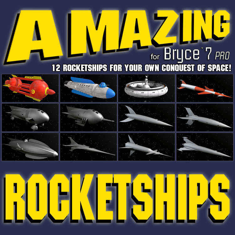 Amazing Rocketships