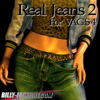 Real Jeans 2 for VAGS4 3D Figure Assets billy-t