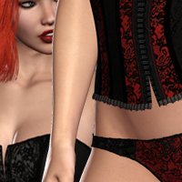 Compulsions VI - Much Cleavage 3D Models 3D Figure Assets nirvy