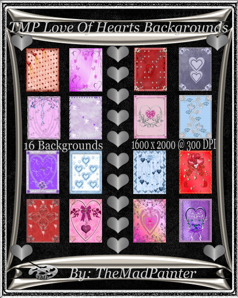 TMP Love Of Hearts Backgrounds