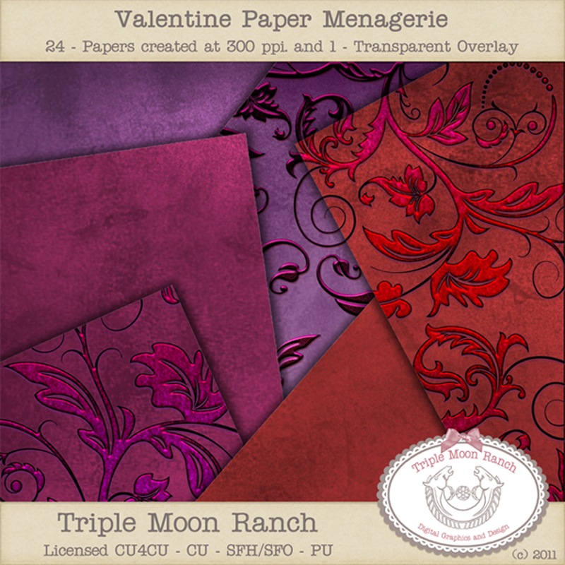 Valentine Paper Managerie