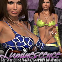 Luminescence for Star Blind V4 A4 G4 PBIV by Mytilus Clothing Themed fratast