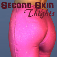 Second Skin Thights 3D Figure Assets Oskarsson