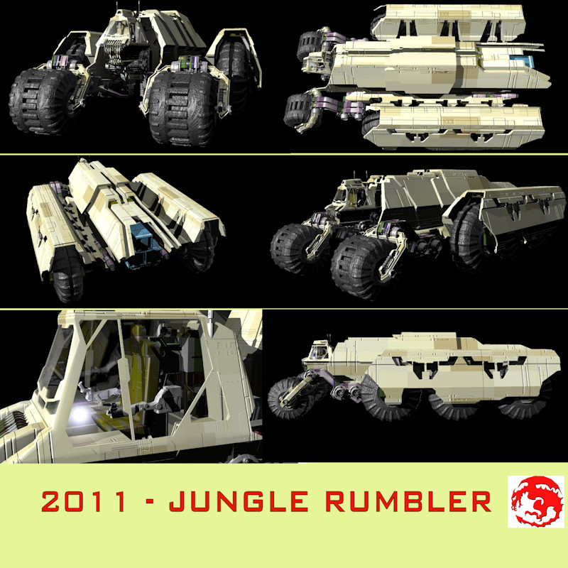 2011 JUNGLE RUMBLER