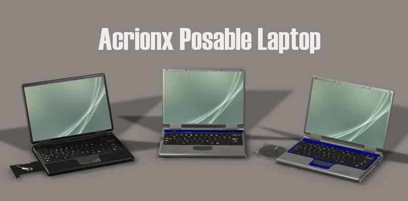 Acrionx Posable Laptop