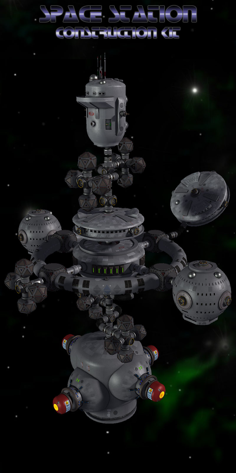 Space Station Construction Kit