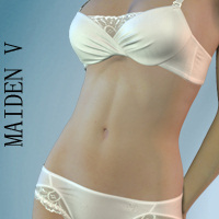 Maiden 5 Lingerie for V4/A4/G4/Elite 3D Figure Assets hongyu