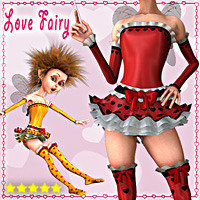 Love Fairy for Mavka 3D Figure Essentials smay
