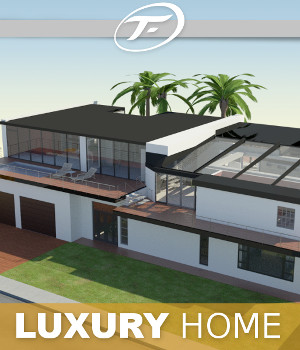 Luxury Home 3D Models TruForm