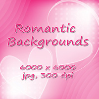 Romantic Backgrounds - 6000 pixel 3D Models 2D karanta