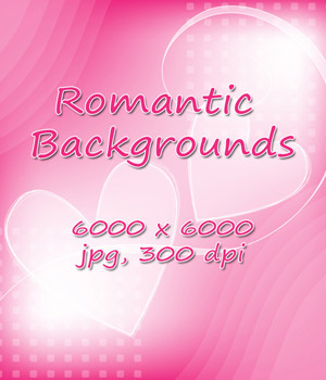 Romantic Backgrounds - 6000 pixel 2D Graphics 3D Models karanta