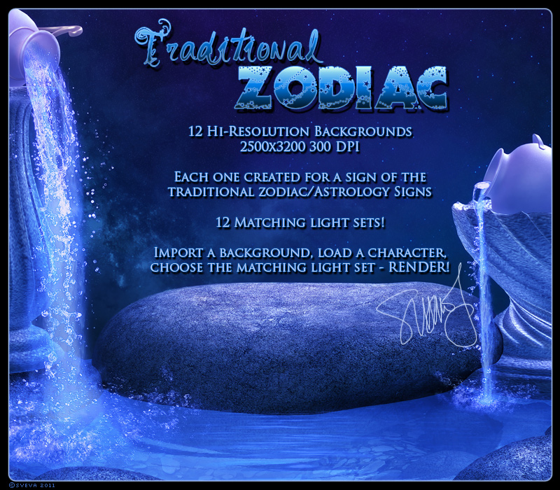 Traditional Zodiac Backgrounds & Lights