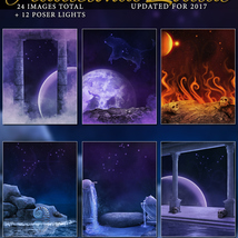Traditional Zodiac Backgrounds & Lights image 1