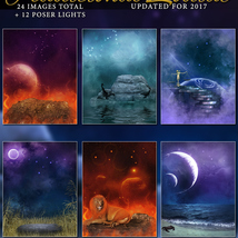 Traditional Zodiac Backgrounds & Lights image 2
