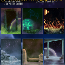 Traditional Zodiac Backgrounds & Lights image 3