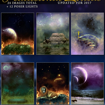 Traditional Zodiac Backgrounds & Lights image 4