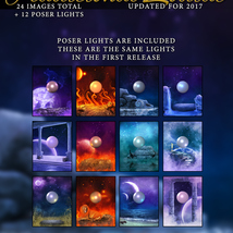 Traditional Zodiac Backgrounds & Lights image 5