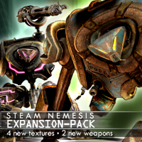 Steam Nemesis Expansion Pack 3D Figure Assets 3D Models winnston1984