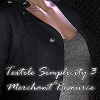 FS Textile Simplicity 3 Merchant Resource 2D And/Or Merchant Resources Themed FrozenStar