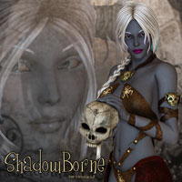 AH ShadowBorn For V4 3D Models 3D Figure Essentials Artemis