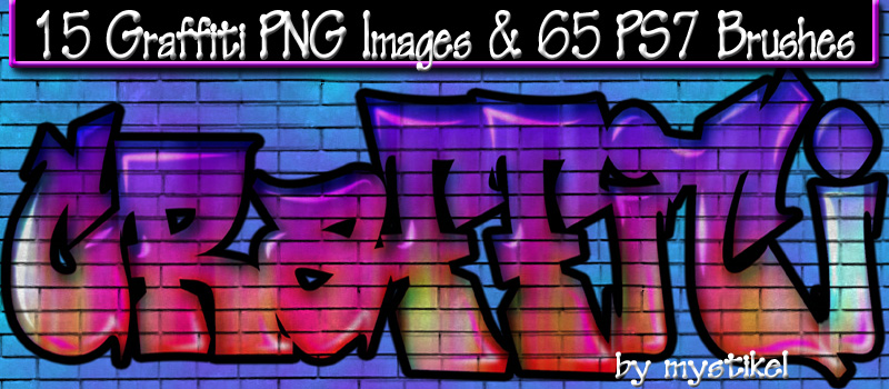Graffiti png and brushes