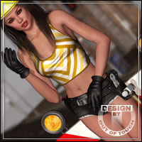 CRAFT for Woman At Work by powerage 3D Figure Essentials outoftouch