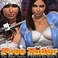 Free Rider for Real Jeans 2 for VAGS4 by Billy-T Clothing Themed fratast