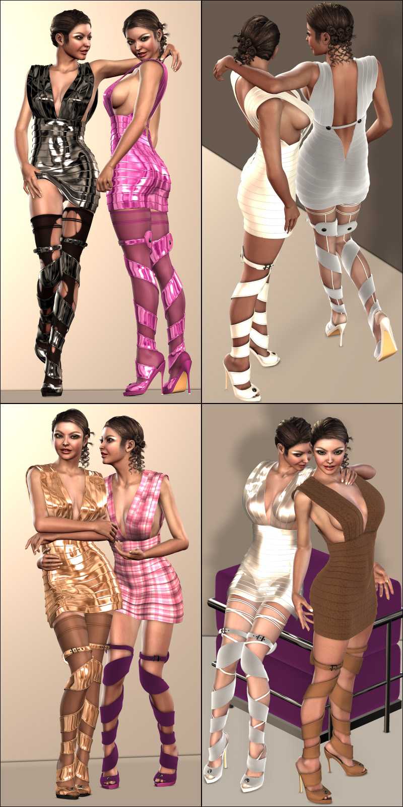 Lovely Dressing Bundle (V4.2 Elite,Aiko4)