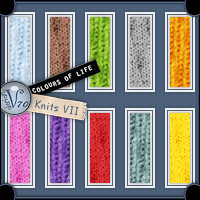 Colours Of Life - Knits VII  Valerian70