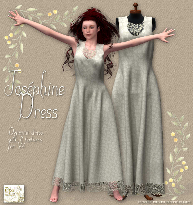 Josphine Dress for V4