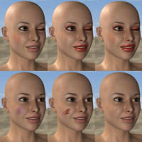 Materials for Human Characters - The Poser Compendium Part 5 image 2