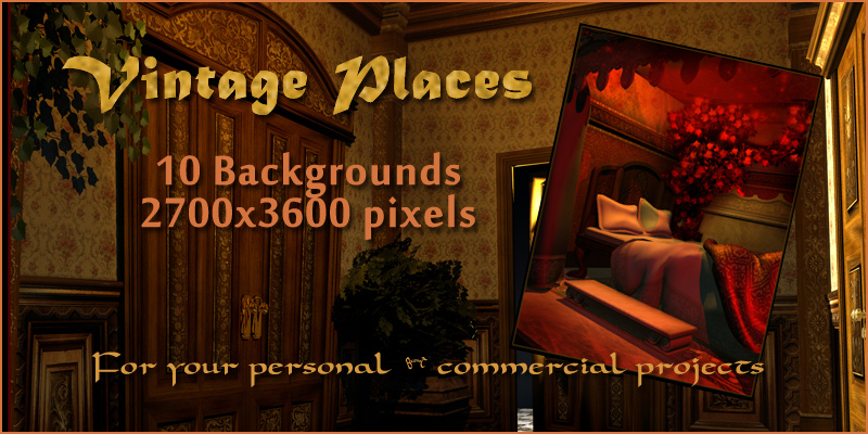 Vintage Places Backgrounds