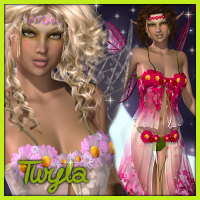 Pixie Dust: Twyla 3D Models 3D Figure Essentials Propschick