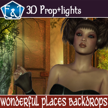 Wonderful Places Backdrops 2D Graphics EmmaAndJordi