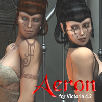 3DP Aeron Characters Software Themed 3dpoetry