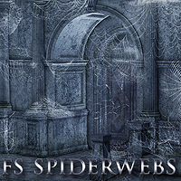 FS Spiderwebs Themed 2D And/Or Merchant Resources FrozenStar